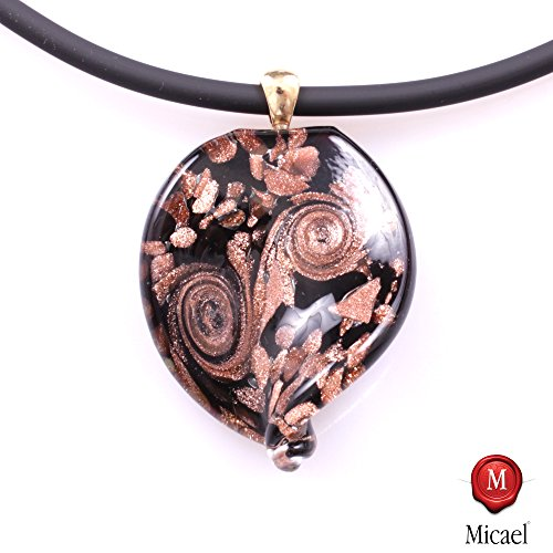 wonderful-murano-glass-pendant-christelle-ii-incl-chain-schwarz-kupfer