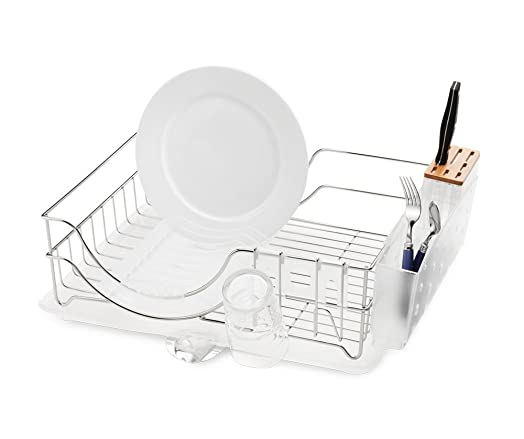 Simplehuman Wire Frame Dishrack Stainless Steel