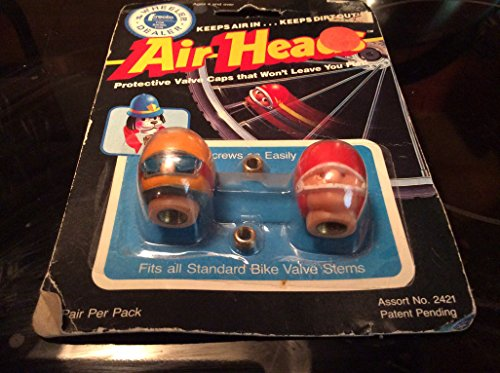 Sporting Goods : Air Heads Protective Valve Stem Caps - Helmets
