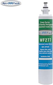 Aqua Fresh WF277 Replacement Water Filter For GE RPWF (Not RPWFE), Water Sentinel WSG-4, GE PYE22KSKBSS, GFE28HSHSS, PFE29PSDASS, PFE29PSDCSS, CFE28TSHSS, CYE22TSHSS Water Filter (1 Pack)