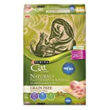 Purina Cat Chow Naturals Grain-Free Plus Vitamins & Minerals With Real Chicken Adult Dry Cat Food - 13 Lb. Bag