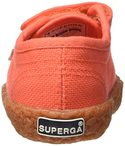 Superga 2750-naked Covj - deportivas bajas Unisex Niños Rosso (Red Coral)