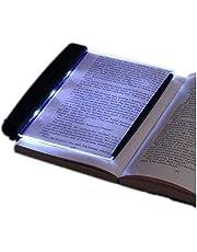 Wendry Latarka LED, lampka do czytania LED ze zdejmowanym klipsem bocznym, lampka nocna do czytania w nocy