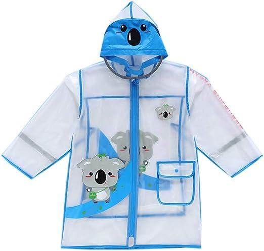Impermeabile Per Bambini Giacca Impermeabile Con Cappuccio In Poncho Trasparente Per Pioggia Per Ragazzi Ragazze Tuta Impermeabile Con Cappuccio Poncho Riutilizzabile Leggero 3-8 Anni