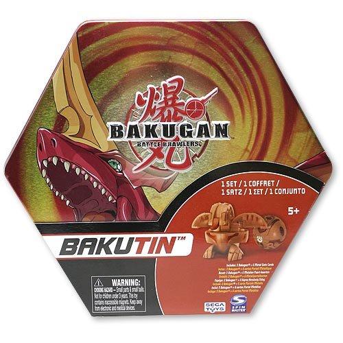Bakugan Bakutin Pyrus (Red) - Includes 2 Exclusive Flip Attribute Bakugan