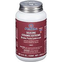 Permatex 80653 lubricante de Silicona para Piezas de Freno, 8 onzas líquidas oz.