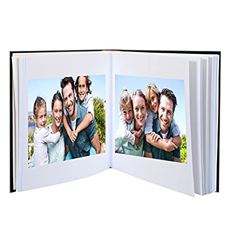 Bordeaux Lot DE 2 Albums Photo /à Coller 30X30 Pages Noires