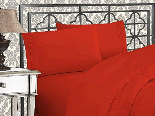 Elegant Comfort 1500 Thread Count Egyptian Quality 4-Piece B