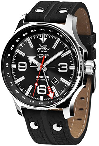 Vostok-Europe Expedition North Pole Dual-Time GMT - 515.24H/595A500