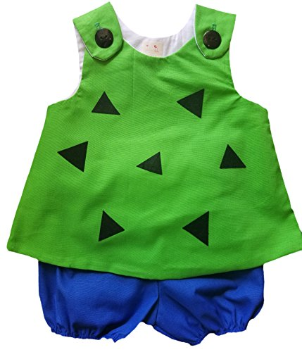 Pebbles and Bamm Bamm Halloween Coordinates-Sold (Pebbles Flintstone Costume For Baby)
