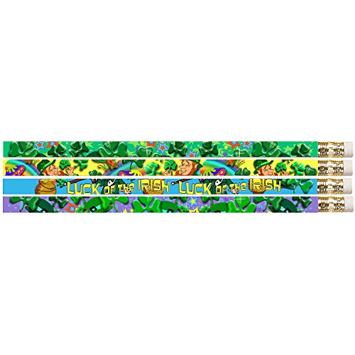 Shamrock Pencils - Musgrave Pencil Co Lucky Shamrock Twinklers School Supplies