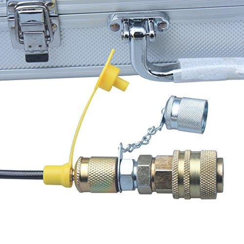 DUSICHIN DUS-900 Excavator Hydraulic Pressure Test Kit, Hydraulic Tester, Pressure Test Guage Coupling 9000 PSI by DUSICHIN (Image #5)