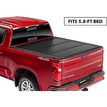 Amazon.com: UnderCover Flex Hard Folding Truck Bed Tonneau Cover | FX11020 | fits 2019 Chevrolet ...