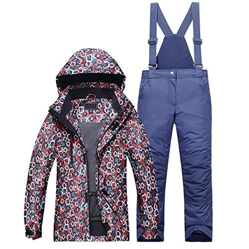 Enfants Ski Suit Jacket D'hiver De Haonuan Pants Imperméable À Porter Costume Set Hiver Veste L'eau Color2 Coupe Garçon Wear Pour vent 8BEqAAWxzw