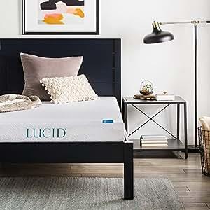 Amazon.com: Lucid 6inch colchón de espuma con ...