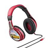 Cars 3 Disney Pixar Movie Lightning McQueen and Cruz Ramirez Kid Friendly Youth Headphones with New & Improved Built in Volume Limiting Feature