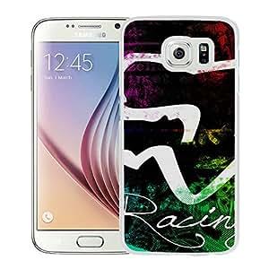 FOX White Cool Customized Design Samsung Galaxy S6 Case