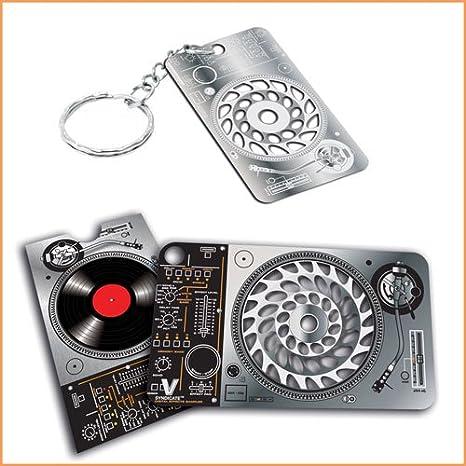 Amazon.com: Groove n Grind tarjeta y keychain- V Syndicate ...