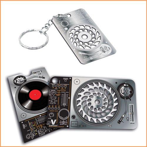 Ranura n Grind tarjeta y keychain- V Sindicato Grinder ...