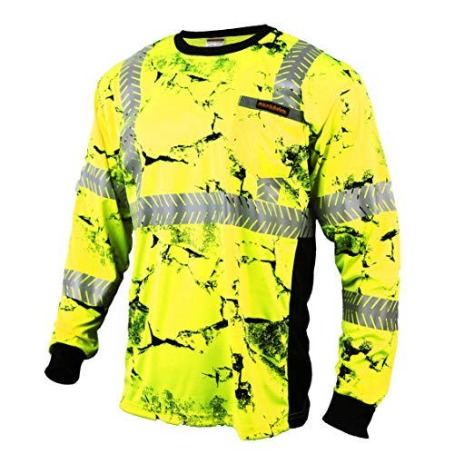Top reflective vest long sleeve