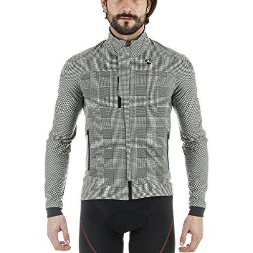 Giordana Sosta Winter Jacket - Men's Grey Plaid, (Giordana Cycling Jacket)