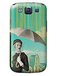 LarryToliver cheap samsung Case - Thin Shell Plastic Case samsung Galaxy s3 Case - Customizable Creative Collage Arts pictures #1