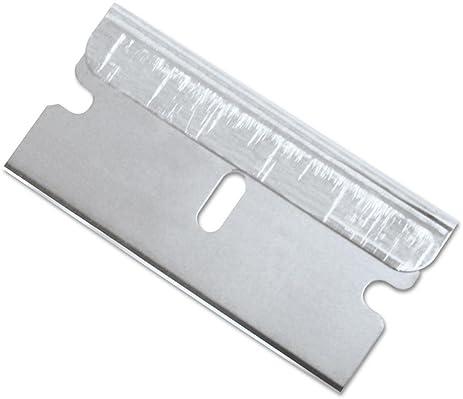 cutter blade. garvey economy single edge cutter blade, box of 100 (40475) blade f
