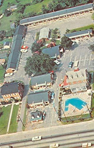 Colonial Heights Virginia Roses Of Picardy Motel Vintage Postcard K99969