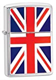 Official Union Jack Flag Emblem Zippo Lighter – Boxed Smoking Gift