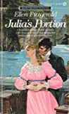 Julia's Portion, Ellen Fitzgerald, 0451152875