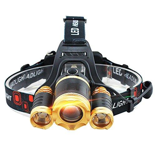 Headlamp Gentre Waterproof Rechargeable Batteries