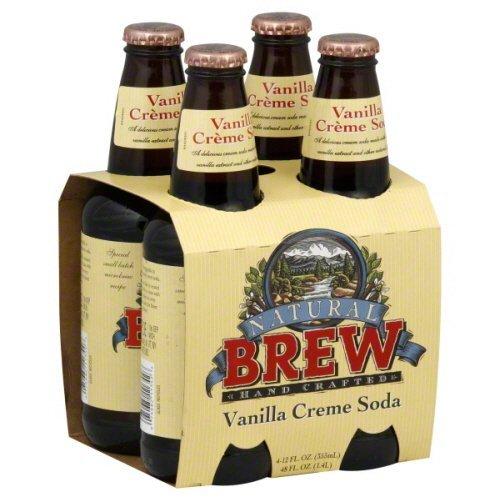 Natural Brew Vanilla Creme Soda - Pack of 6