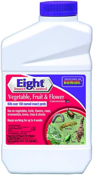 Bonide (BND443) - Eight Insect Control for Vegetable, Fruit, and Flower, Insecticide/Pesticide Concentrate (32 oz.)