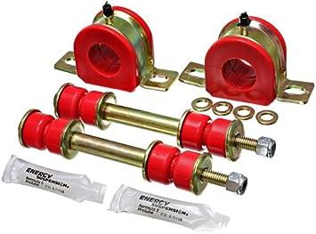 Energy Suspension 3-5178R Front Sway Bar Bushing /& End Link Set
