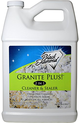 Price comparison product image GRANITE PLUS! 2 in 1 Cleaner & Sealer for Granite,  Marble,  Travertine,  Limestone,  Ready to Use! 1-Gallon Refill.