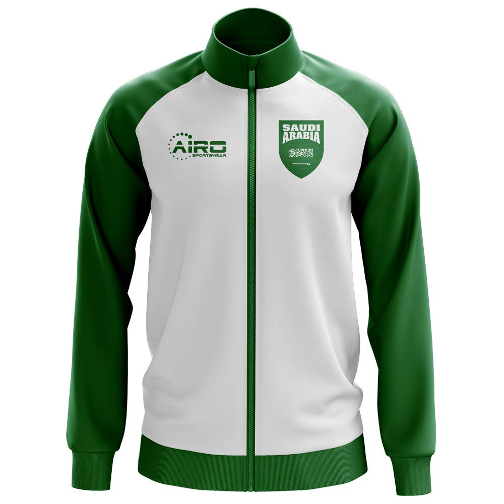 Airo Sportswear Saudi Arabia Concept Football Track Jacket (Weiß) - Kids