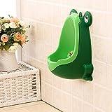OKMONG Frog shape children's toilet urinal child Green