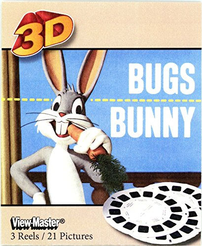 Image Daffy Duck - Viewmaster Bugs Bunny - 3 Reel Set - 21 3d Images Bugs, Daffy, and Porky Pig