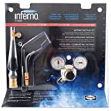 Harris HX-5MC Inferno Air-Fuel Kit with Quick Connect Acetylene Hose Connections, HA-5i Inferno Brazing Tips and MC Tank Connection (Pack of 1)
