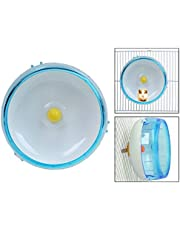 Itian Hamster Running Spinner Wheel Pet Running Toy for Small Animals Hamster Exercise Toy (Blue)