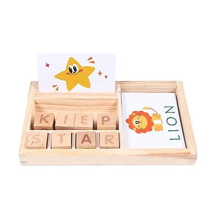 Amazon.com: 1 caja para niños con ilustración de aprendizaje ...