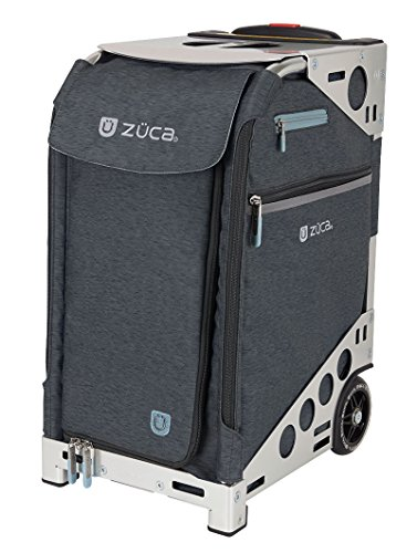 Zuca Pro Travel Heather Bag - Slate Insert and Silver Frame by ZUCA