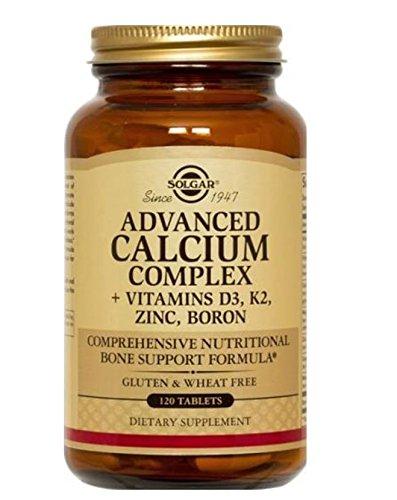 Solgar Advanced Calcium Complex 120 Tablets (Calcium Chelated)
