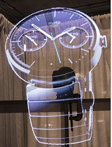 Recommended Novelty LED Fan Holographic 3D Smart Screen AD Video Display by ZG (Image #3)
