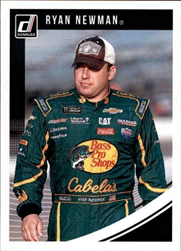 2019 Donruss Racing #81 Ryan Newman Cabela's/Richard Childress Racing/Chevrolet Official NASCAR Trading Card