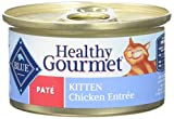 Blue Buffalo Healthy Gourmet Chicken Canned Kitten Food, 3 Oz. (Case Of 24 Cans) Review