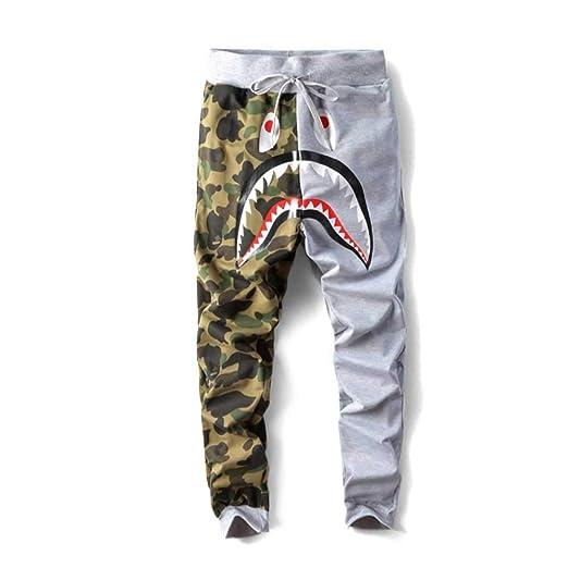 QYS Pantalones de chándal Casuales Pantalones de Hombre Pantalones ...
