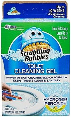 Scrubbing Bubbles Toilet Cling Gel Hydrogen Peroxide-1.34 Oz