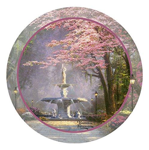 Thomas Kinkade Victorian Garden - Thirstystone Stoneware Coaster Set, Savannah Romance