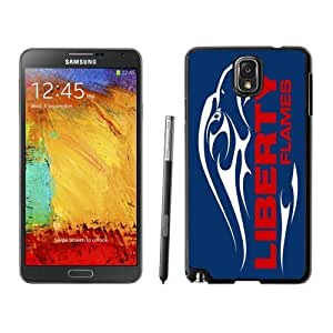 Samsung Galaxy Note 3 Case Ncaa Big South Conference Liberty Flames 02 Designer Best Phone Protective Covers